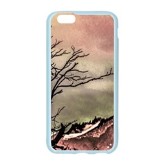 Fantasy Landscape Illustration Apple Seamless iPhone 6/6S Case (Color)