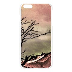 Fantasy Landscape Illustration Apple Seamless iPhone 6 Plus/6S Plus Case (Transparent)