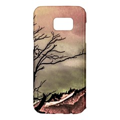 Fantasy Landscape Illustration Samsung Galaxy S7 Edge Hardshell Case