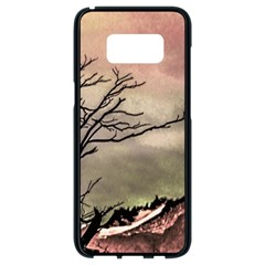 Fantasy Landscape Illustration Samsung Galaxy S8 Black Seamless Case