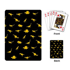Dinosaurs pattern Playing Card