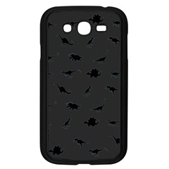 Dinosaurs pattern Samsung Galaxy Grand DUOS I9082 Case (Black)