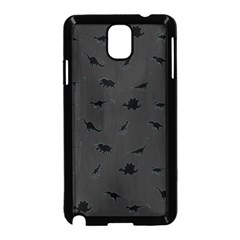 Dinosaurs pattern Samsung Galaxy Note 3 Neo Hardshell Case (Black)