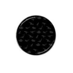 Dinosaurs pattern Hat Clip Ball Marker (10 pack)