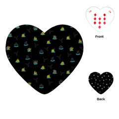 Cactus pattern Playing Cards (Heart)