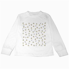 Cactus pattern Kids Long Sleeve T-Shirts