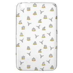 Cactus pattern Samsung Galaxy Tab 3 (8 ) T3100 Hardshell Case