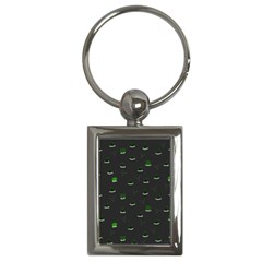 Cactus pattern Key Chains (Rectangle)
