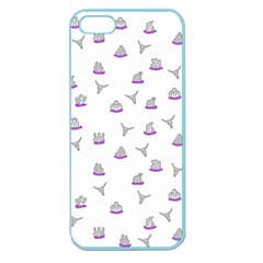 Cactus pattern Apple Seamless iPhone 5 Case (Color)
