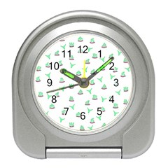 Cactus pattern Travel Alarm Clocks