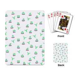 Cactus pattern Playing Card