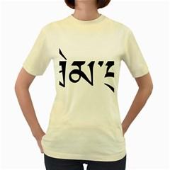 Thimphu  Women s Yellow T-Shirt