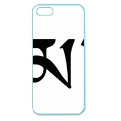 Thimphu  Apple Seamless iPhone 5 Case (Color)