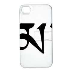 Thimphu  Apple iPhone 4/4S Hardshell Case with Stand