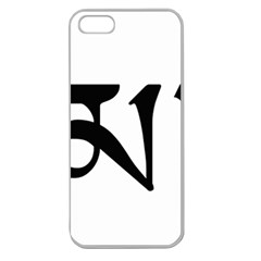 Thimphu Apple Seamless iPhone 5 Case (Clear)