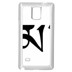 Thimphu Samsung Galaxy Note 4 Case (White)