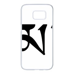 Thimphu Samsung Galaxy S7 edge White Seamless Case