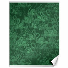 Flamingo pattern Canvas 36  x 48