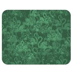 Flamingo pattern Double Sided Flano Blanket (Medium)