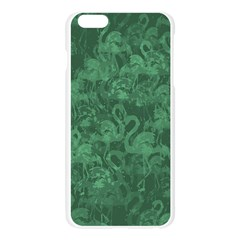 Flamingo pattern Apple Seamless iPhone 6 Plus/6S Plus Case (Transparent)