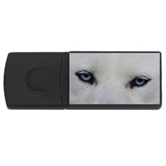 Akita Inu White Eyes USB Flash Drive Rectangular (4 GB)