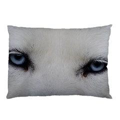 Akita Inu White Eyes Pillow Case