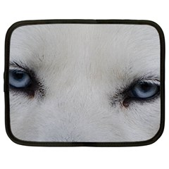 Akita Inu White Eyes Netbook Case (XXL)
