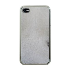 Akita Inu White Eyes Apple iPhone 4 Case (Clear)