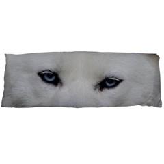Akita Inu White Eyes Body Pillow Case Dakimakura (Two Sides)