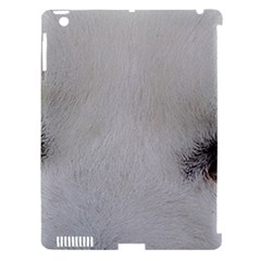Akita Inu White Eyes Apple iPad 3/4 Hardshell Case (Compatible with Smart Cover)