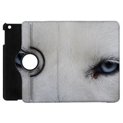 Akita Inu White Eyes Apple iPad Mini Flip 360 Case