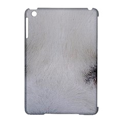 Akita Inu White Eyes Apple iPad Mini Hardshell Case (Compatible with Smart Cover)