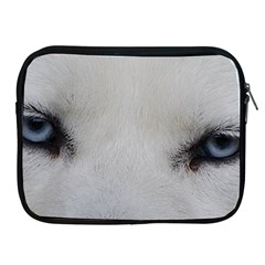 Akita Inu White Eyes Apple iPad 2/3/4 Zipper Cases