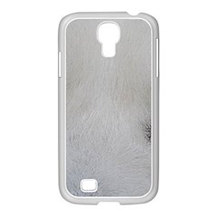Akita Inu White Eyes Samsung GALAXY S4 I9500/ I9505 Case (White)