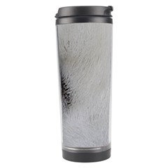 Akita Inu White Eyes Travel Tumbler