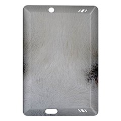 Akita Inu White Eyes Amazon Kindle Fire HD (2013) Hardshell Case