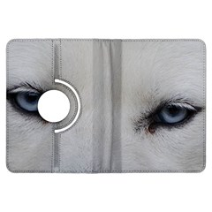 Akita Inu White Eyes Kindle Fire HDX Flip 360 Case