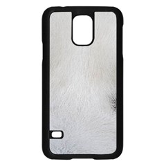 Akita Inu White Eyes Samsung Galaxy S5 Case (Black)