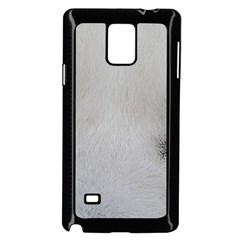 Akita Inu White Eyes Samsung Galaxy Note 4 Case (Black)