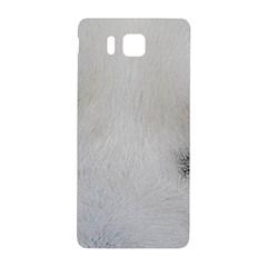 Akita Inu White Eyes Samsung Galaxy Alpha Hardshell Back Case