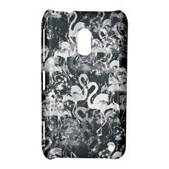 Flamingo pattern Nokia Lumia 620