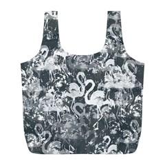 Flamingo pattern Full Print Recycle Bags (L)