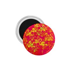 Flamingo pattern 1.75  Magnets