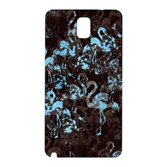 Flamingo pattern Samsung Galaxy Note 3 N9005 Hardshell Back Case