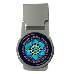 Abstract Mechanical Object Money Clips (round)