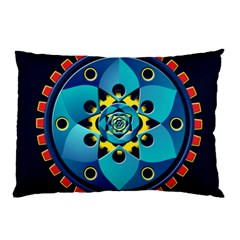 Abstract Mechanical Object Pillow Case