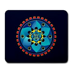 Abstract Mechanical Object Large Mousepads