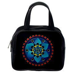Abstract Mechanical Object Classic Handbags (one Side)