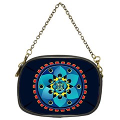 Abstract Mechanical Object Chain Purses (one Side)