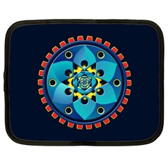 Abstract Mechanical Object Netbook Case (xxl)